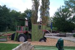 Spielplatz vor dem Gutshaus Petkus