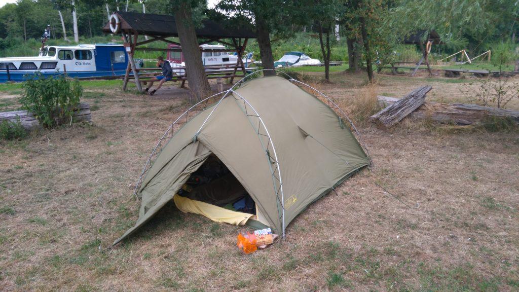 Camping am Wasserwanderplatz Eggesin