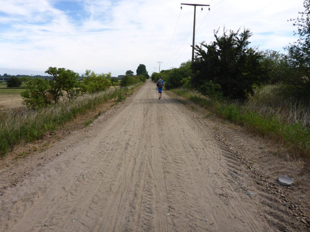 Unbefestigter Weg bei Schmarsow