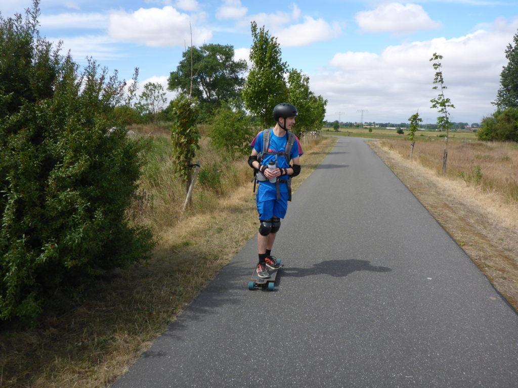 Fahrradweg hinter Pasewalk