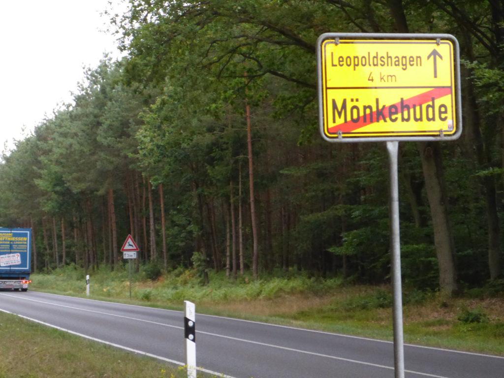 Ortsausgang Mönkebude