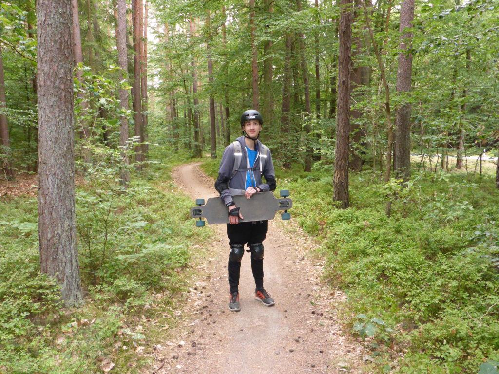 Waldweg nach Leopoldshagen