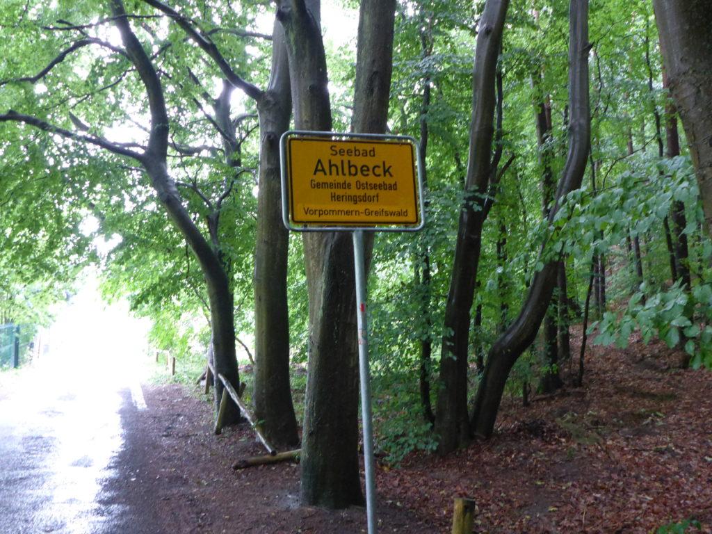 Ortseingang Ahlbeck
